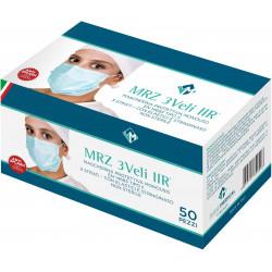 MRZ 3PLY IIR - Pack 50 pcs